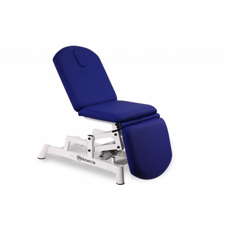 table divan d 39 examen type fauteuil avec 3 panneaux hauteur r glable t l commande. Black Bedroom Furniture Sets. Home Design Ideas