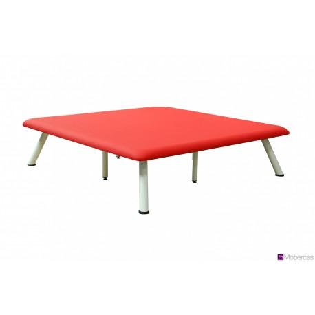 TABLE TYPE BOBATH 1 PLAN À HAUTEUR FIXE AVEC 4 PIEDS EXTÉRIEUR ET 4 PIEDS INTÉRIEURS